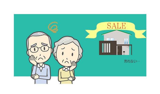 売れない不動産を売却する際に売主が取るべき行動のイメージ