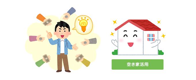 空き家活用の資金調達支援